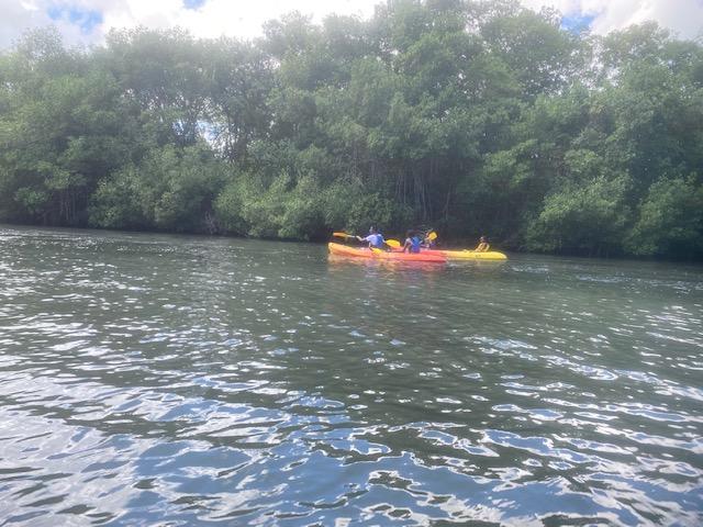 Kayak classe de 3eme